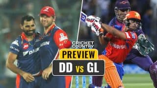 Delhi Daredevils (DD) vs Gujarat Lions (GL), IPL 2017, Match 42 preview and likely XIs: DD eye momentum; GL look for change of fortune