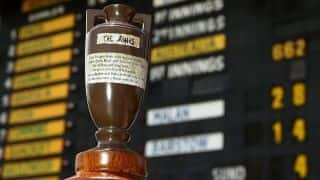 Ashes urn set for rare Australia visit