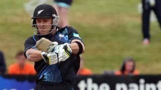 McCullum dismissed for 51 by Senanayake