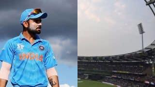 मुंबई वनडे: एक टावर की लाइट न जलने के चलते, थोड़ी देर के लिए रोकना पड़ा मैच