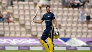 James Vince has been called up to the England squad for Headingley ODI against India