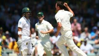 Australia vs South Africa 1st Test, Day 1, Lunch Report: Hosts' bowlers on top as Proteas crumble in first session