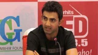 Gautam Gambhir: Arun Jaitley gave Delhi proper stadium without taxpayers' money