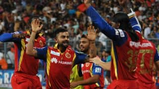 Royal Challengers Bangalore cement position in playoffs