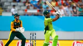 Sarfraz Ahmed creates first impact on debut with sensational six catches
