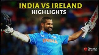 India vs Ireland, ICC Cricket World Cup 2015 Pool B Match 34 at Hamilton: Highlights