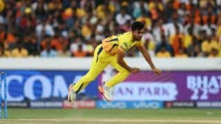 IPL 2018: Deepak Chahar sidelined by hamstring injury for 2 weeks, confirms Stephen Fleming