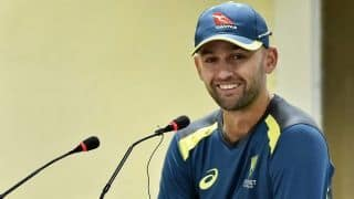 In his pursuit to stay relevant, Nathan Lyon working on variations