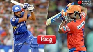 मुंबई इंडियंस को जीत का चौका लगाने से रोक पाएगी गुजरात लायंस ?