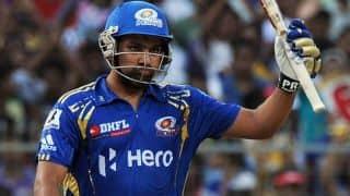 Kolkata Knight Riders (KKR) vs Mumbai Indians (MI), IPL 2015 Match 1: Rohit Sharma scores 22nd IPL half-century