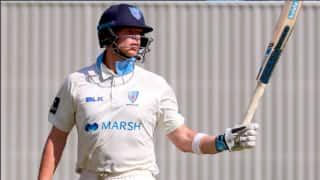 Steve Smith, Moises Henriques hits Ton in Sheffield Shield match between New South Wales and Tasmanian Blue Tigers