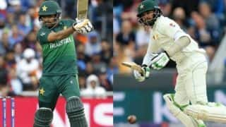 Sarfaraz Ahmed dropped from Test and T20I Team; Azhar Ali, Babar Azam named captain for Test and T20I respectively