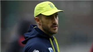Faf du Plessis: Dale Steyn's fitness will decide team composition