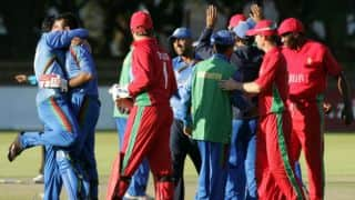 Live scorecard: Zimbabwe vs Afghanistan 4th ODI