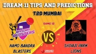 Dream11 Prediction: NBB vs SPL Team Best Players to Pick for Today's Match between NaMo Bandra Blasters and Shivaji Park Lions at 7:30 PM