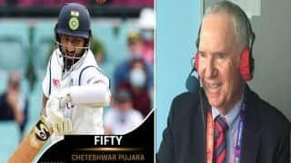 India vs Australia- Cheteshwar Pujara शॉट खेलने से डर रहे थे: एलेन बॉर्डर