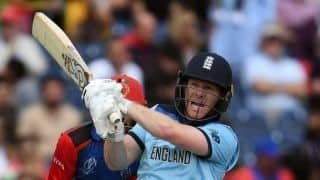 Cricket World Cup 2019: Eoin Morgan hits 17 sixes in an innings to break ODI record