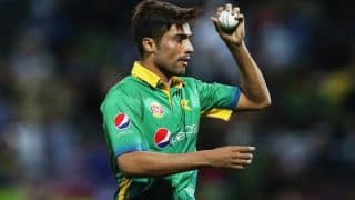 Mohammaed Aamer is unlikely to play in Pakistan vs World XI T20I series