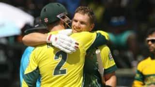 Zimbabwe Triangular Series 2014: Australia take on struggling Zimbabwe