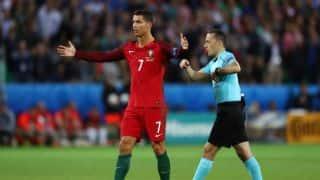 Euro 2016: Cristiano Ronaldo left unimpressed by Iceland celebrations