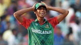 विश्व कप से ठीक पहले बांग्लादेश के तेज गेंदबाज मुस्तफिजुर रहमान हुए चोटिल