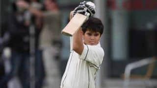 Sachin Tendulkar's son Arjun produces all-round performance in U-16 game in Mumbai