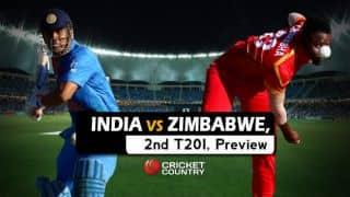 India vs Zimbabwe 2016, 2nd T20I at Harare, Predictions and Preview: Resurgent Zimbabwe look to seal series against India
