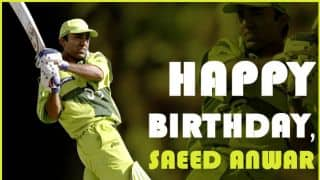 15 rare things about Saeed Anwar