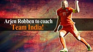 Arjen Robben appointed as India's fielding coach