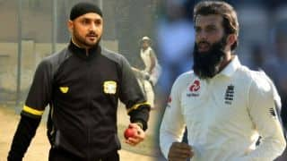 England's Moeen Ali turns to Harbhajan Singh for bowling advice