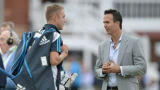 Stuart Broad's war of words with Michael Vaughan continues