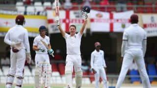 Live Cricket Scorecard: West Indies vs England 2015, 1st Test at Antigua Day 5