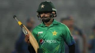 ICC CRICKET WORLD CUP 2019 : Players are disappointed with their performance says Mohammad Hafeez