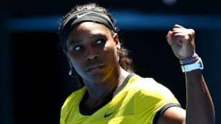 Serena Williams tastes dog food