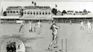 Wicket with first ball and 100 on debut, Part 1: Frederick Stocks