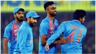 मुंबई टी20- सीरीज क्लीन स्वीप करने के लिए टीम इंडिया को मिला 136 रनों का लक्ष्य