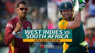 Tri-Nation series 2016, 6th ODI, WI vs SA: Preview and Predictions