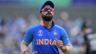 Cricket World Cup 2019 - We are sad, but not devastated: Virat Kohli
