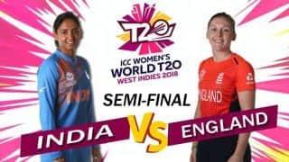 ICC Women's World T20 2018 semi-final, India vs England, Highlights: England beat India by eight wickets to set up summit clash with Australia