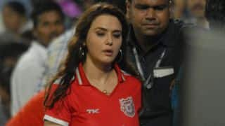 Watch: Kings XI Punjab (KXIP) cricketers play a prank over Preity Zinta