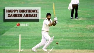 Happy B'day, Zaheer Abbas! Former PAK batsman turns 69