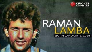 Raman Lamba: An Extraordinary strokeplayer who died on the field