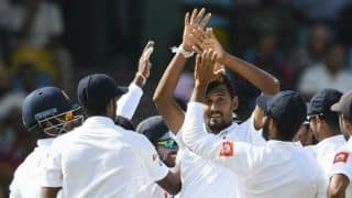 West Indies v Sri Lanka, 3rd Test: Bowlers reduce host to 132 for 5 at stumps