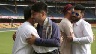 Afghanistani Cricketers celebrate Eid in Bangalore