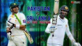 Sri Lanka vs Pakistan 2014: 1st Test Preview