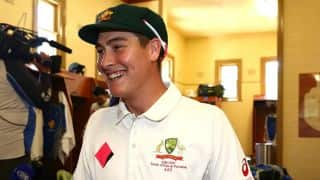 Renshaw to lead CA XI vs ENG ahead of ODI series