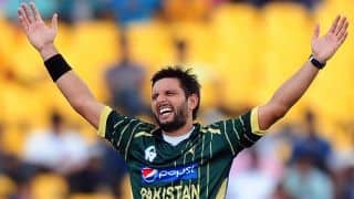 Shahid Afridi in the race to become Pakistan's T20 captain