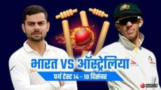 India vs Australia 2018, 2nd Test, Day 1, Perth, Optus Stadium, Live Score live update