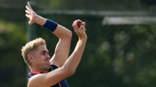 England paceman Olly Stone has partial stress fracture