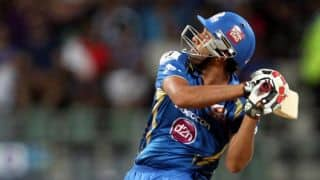 Live Cricket Score IPL 2014: Mumbai Indians (MI) vs Kolkata Knight Riders (KKR) match 1 of IPL 7 at Abu Dhabi